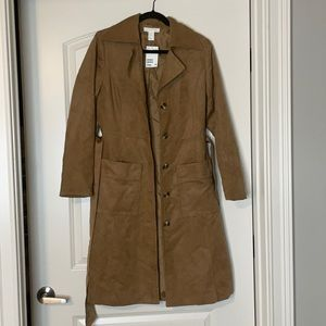H&M Trench coat, Button down with pockets
